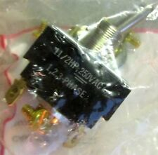 CARLING SWITCH P/N HM274-73-XPB1 Part No. P NEW IN PACKAGE 11/2HP 250V AC Toggle