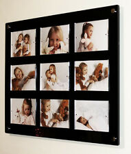 """Cheshire Acrylic 7 x 5 """" wall magnetic easy change 5 x 7 """" picture photo frame"""