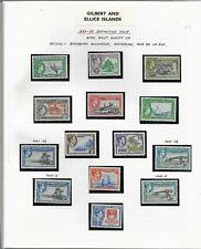 Gilbert & Ellice Islands, 1939 KGV pictorials, complete set ** LMM (BB004)