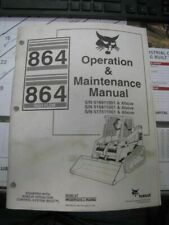 Bobcat 864 Skid Steer Loader Operation & Maintenance Manual 6900953