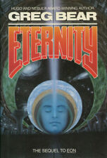 """""""Eternity"""" by Greg Bear (1988, First Edition / DJ, Sequel to EON)"""