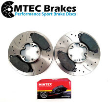 Ford Transit MK6 2.4 TDDi Genuine TRW Vented Front Brake Discs Pair x2