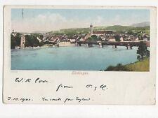 Saeckingen Germany 1901 Postcard 255a