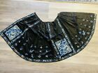 Gorgeous Antique Chinese Silk Skirt With Peking Knot Qing Period