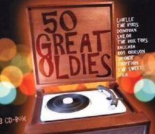 50 GREAT OLDIES 3 CD BOX MIT SMOKIE UVM NEU