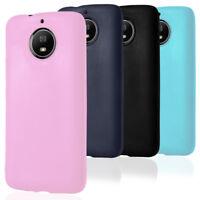 Mobile Cover Plain for Motorola Moto G5s / G5s Plus Light Back TPU Phone Shell