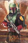 "Star Wars: The Mandalorian - TV Show Poster (Boba Fett) (Size: 24"" x 36"")"