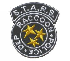 STARS Raccoon Police Resident Evil Patch Badge 6.5x8 cm