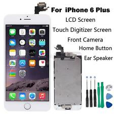 Full Set LCD Touch Screen Digitizer Assembly Replacement for iPhone 6 Plus White