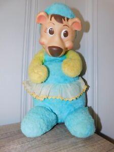 Knickerbocker 1959 Plush Cindy Bear Doll Yogi Girlfriend Huckleberry Hound