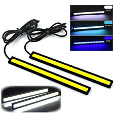 Ice Blue 12V LED Strip Lights Car Truck Boat Interior 17CM Under Dash Floor.