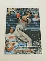 2018 Topps Walmart Holiday Baseball Rookie - Chance Sisco RC - Baltimore Orioles