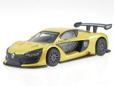 Renault Sport R.S. 01 amarillo coche en miniatura 38021 Bburago 1 43