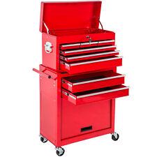 Carro de herramientas taller garaje conjunto ruedas Caja accesoria móvil rojo