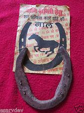 Mantra Shida Black Horse shoe,  shani shanti, kale ghode ki naal ORIGINAL