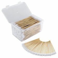 .22 .223 5.56 Caliber 6 Inch Cotton Gun Cleaning Swabs in Storage Case 300 Pcs