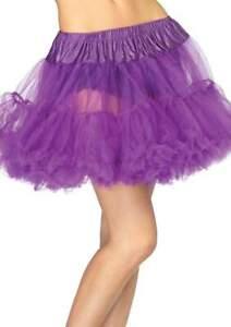 "Petticoat Leg Avenue Soft Layered Tulle 16"" Long 2 Layered Ruffled Petti-Slip"