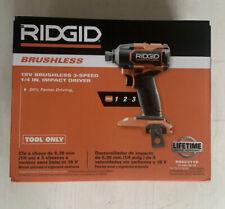 """RIDGID 18V 1/4"""" IMPACT DRIVER R862311B"""