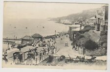 More details for isle of wight postcard - ventnor - from the shelter, iow - ll no. 4 - p/u (a210)