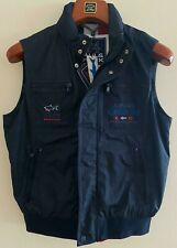 NEW Paul & Shark Yachting Jacket GILET Waistcoat KIPAWA BLUE NAVY S