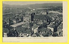 cpa FRANCE 90 - SIÈGE de BELFORT 1870-1871 Vue de la VILLE BOMBARDÉE