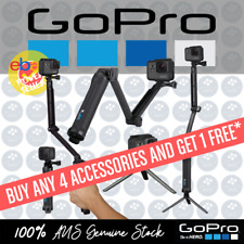 GoPro 3-Way Mount Grip Extension Mini Tripod Selfie Stick Handheld - GPAFAEM001
