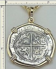 Replica ATOCHA 2 REALE SPANISH COIN JEWELRY KEY WEST TREASURE Galleon SHIPWRECK
