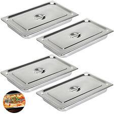4 Pan Full Size 4 Deep Steam Table Pans Bain Marie Catering Food Warmer Buffet