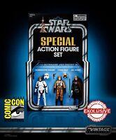 STAR WARS Vintage Collection Luke Skywalker Jedi Destiny Special Set SDCC 2019