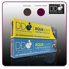 D-D Aquascape Aquarium EPOXY Coralline Algae Grey Colour MILLIPUT MARINE REEF