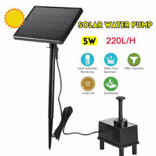 Gardeon Solar Pond Pump Powered Water Outdoor Submersible Fountains Filter