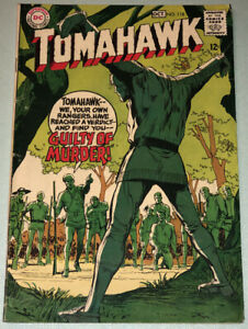 Tomahawk #118 VG 1968 DC Comic Book Silver Age Western Neal Adams Cover