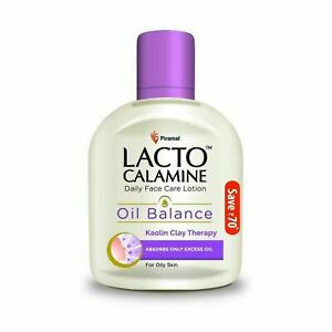 Lacto Calamine Face Lotion for Oil Balance Oily Skin 120 ml