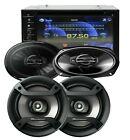 SoundXtreme 2 Din DVD Receiver ST-6527BT + 4x Pioneer 6.5