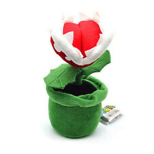 Super Mario Bros. Flower Decoration Piranha Plant 9 inch Plush Toy Doll US ship