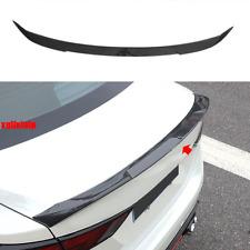 For 2020+ Nissan Sentra Carbon Fiber Look Rear Door Tail Trunk Spoiler Wing Lip