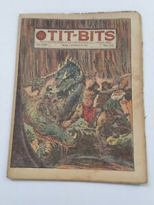 RARE! - WHOSE ISLAND IS IT? - TIT-BITS #1759 (1943) -ORIG. IN SPANISH- ARGENTINA