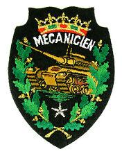 Ecusson brodé militaire ♦ (patch/crest embroidered) ♦ MECANICIEN CHAR AMX 30