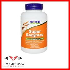 Now Foods Super Enzymes 180 Tablets, Healthy Digestion