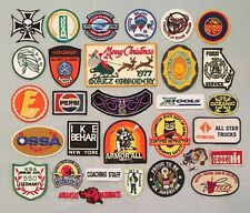 Vintage Lot of 30 Souvenir PATCHES Armor All Harley Pepsi SS Oceanic Sports +++