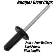 5x FORD FIESTA MK5 BUMPER RIVETS ALUMINIUM BLIND POP RIVET METAL PLASTIC SLEEVE