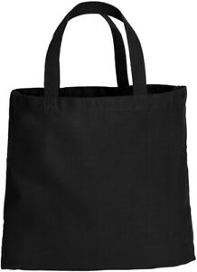 Canvas Tote Shopping Bag Shoulder Reusable Grocery Beach Foldable Durable Eco