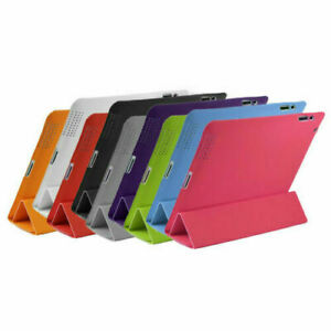 UK Smart Stand Soft Front Back Leather Magnetic Case Cover For Apple iPad 4 3 2