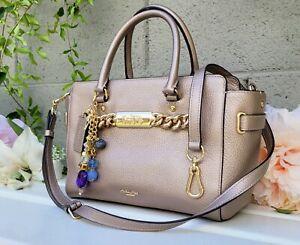 Coach 39875 blake carryall 25 Swagger rose gold purse satchel crossbdy handbag