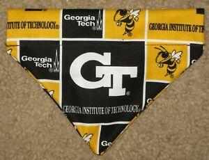 Georgia Tech Yellow Jackets Dog Bandana - 5 sizes XS - XL