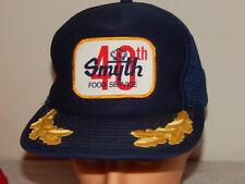 Smyth Food Service Blue Trucker Hat Cap Patch