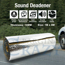 1M x 8M 10mm Sound Deadener Heat Proof Insulation Noise Proofing Foam Car Auto