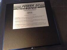 ESCO 50 AMP TRANSFER SWITCH ES50M-65N