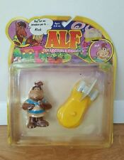ALF COLLECTIBLE FIGURES RICK WITH SONIC SURFBOARD 1987 COLECO  #5705