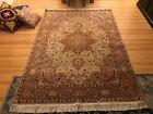 Beautiful Heriz rugs (2), hand knotted, geometric design, 7'/5'